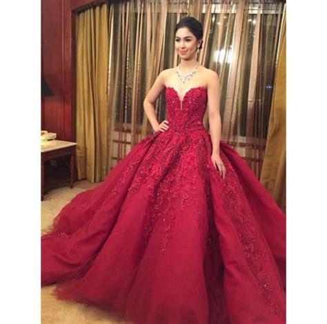 julia barretto gown happy birthday julia barretto you look stunning in a red