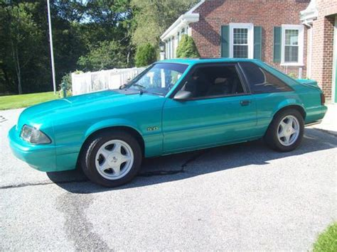 Sell Used 1993 Ford Mustang Lx Hatchback 2-door 5.0l