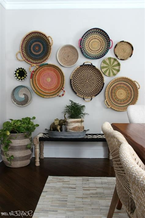 If you think this … 20 Best Woven Basket Wall Art