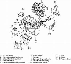 2000 Kia Sportage Steering Diagram