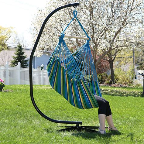 hammock chair swing jumbo hanging chair hammock swing or hammock and c stand