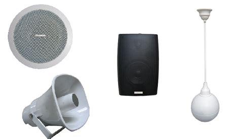Portable Sound System, Public Address (pa) Speakers