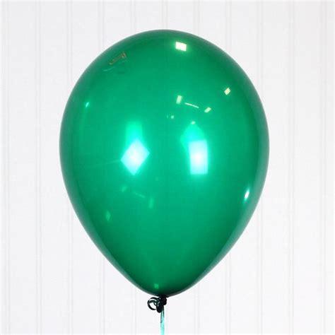 emerald green qualatex  latex balloon single balloon
