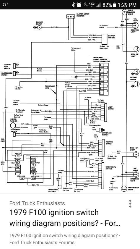 read wiring diagram ford  forum community