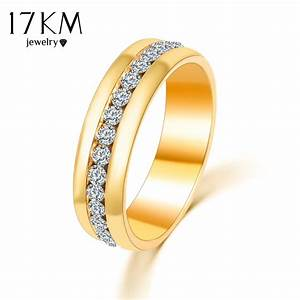 17km gold color and silver color crystal wedding rings for for Wedding rings silver and gold