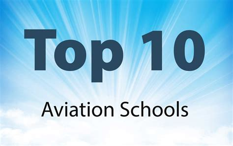 americas top  aviation schools