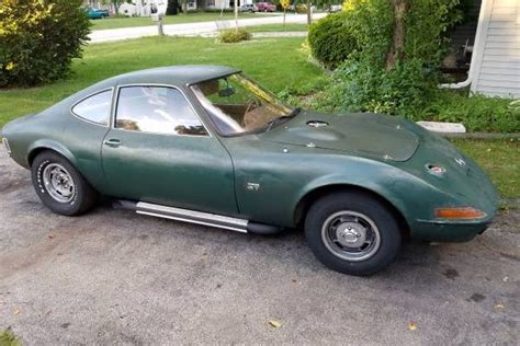 1968 Opel Gt by Tiny Corvette 1968 Opel Gt V8