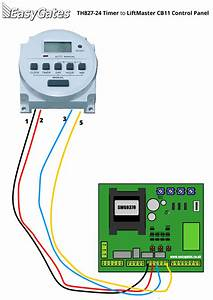 Timer Photocell Wiring Diagram