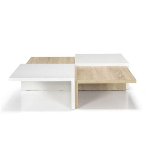tables de cuisine alinea alinéa checker table basse carrée de style scandinave