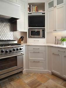 design ideas and practical uses for corner kitchen cabinets With kitchen corner cabinet design ideas