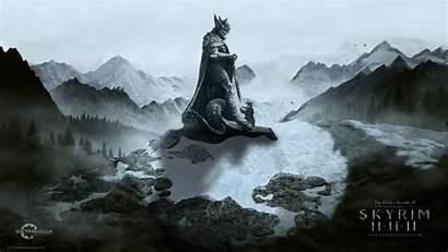Skyrim Elder Scrolls Wallpapers Desktop Backgrounds Pc