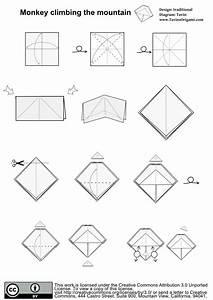 Origami Monkey Easy Step By Step  U2013 Jadwal Bus