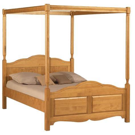 vers blanc cuisine lit à baldaquin 2 places pin miel 140 x 190 beaux meubles pas chers