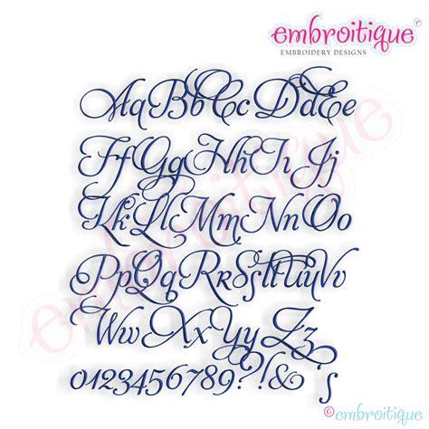 embroitique stevenson monogram font set small