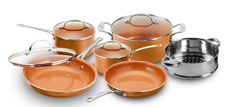 gotham steel  piece  stick cookware set reviews wayfair