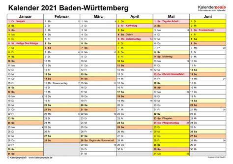 Hallo jungs, willkommen auf unserer website. Get Kalender 2021 Zum Ausdrucken Kostenlos Baden Württemberg - Best Calendar Example