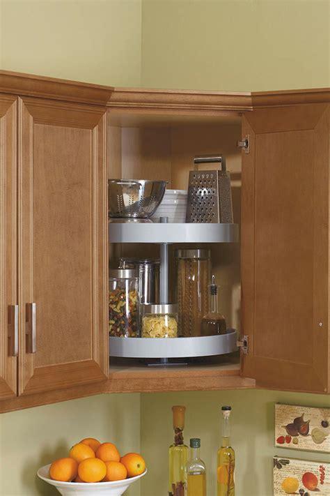 lazy susan cabinet storage solution kitchen craft