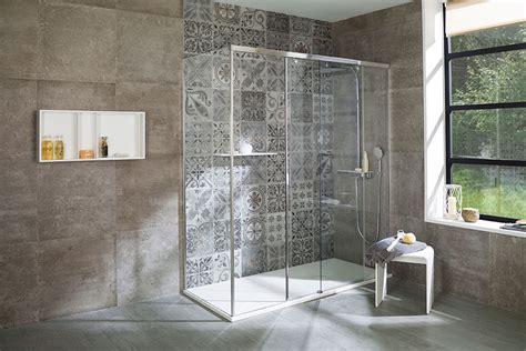 tiled shower shelf bathroom fixtures porcelanosa