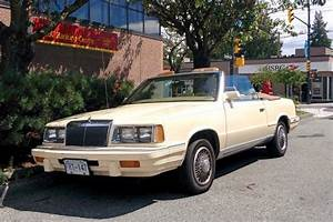 Old Parked Cars Vancouver 1986 Chrysler Lebaron