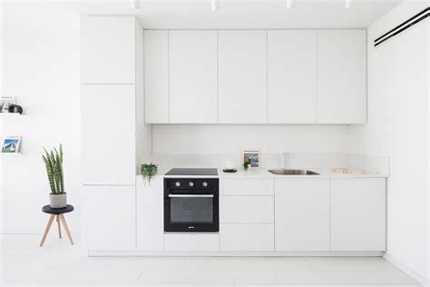 minimalist small kitchen design modern minimalist apartment interior design with white and 7519