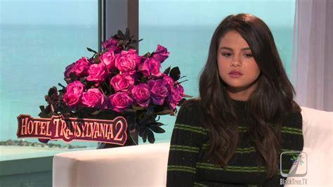 Selena Gomez Interview Hotel Transylvania 2 - YouTube