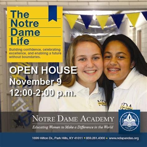 nda opens  doors  future pandas notre dame academy
