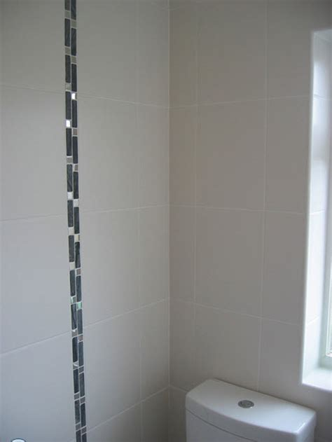 Bathroom With Border Tiles With Model Inspiration Eyagcim