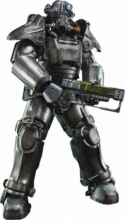 Power 45 Figure Fallout Toys Armour Action