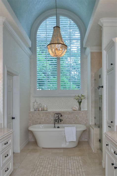 luxe master bathroom features  traditional
