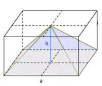 Prisma Berechnen übungen : pyramide oberfl che und volumen berechnen ~ Themetempest.com Abrechnung