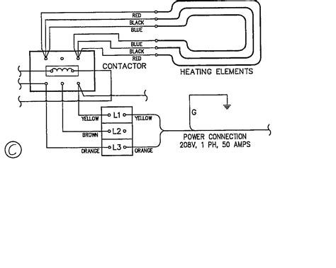 240 1 Phase Wiring Diagram by I Got A Convection Oven 208v 60 3 309 9kw Standard On