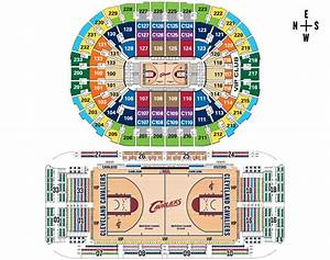 cleveland cavaliers floor seats chart thefloorsco With cavs floor seats