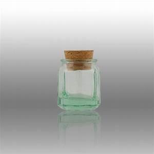 Bocal Bouchon Liege : mini bocal octogonal 38ml avec bouchon en li ge mini ~ Teatrodelosmanantiales.com Idées de Décoration