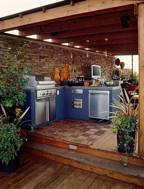 outdoor kitchen ideas   enjoy  spare time