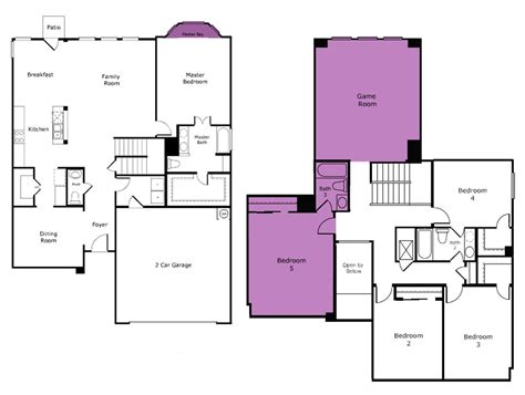 Home Additions Floor Plans Room Addition  House Plans