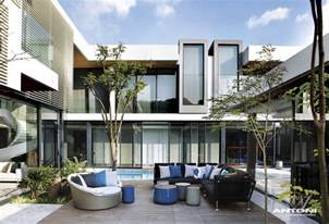 Detached Deck Plans by Modern Mansion With Perfect Interiors By Saota