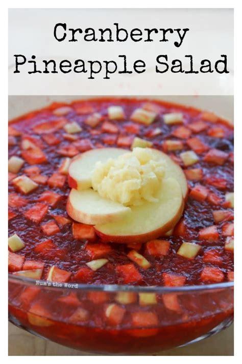Choisissez parmi des contenus premium thanksgiving jello de la plus haute qualité. Cranberry Jello Salad Thanksgiving Side Dish - Num's the Word | Cranberry recipes, Pineapple ...