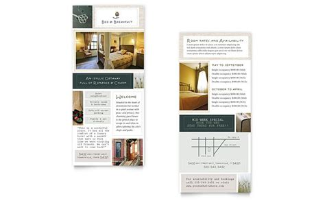 accommodations rack card designs google search