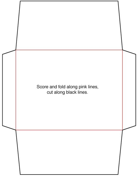envelope template  envelope template printable
