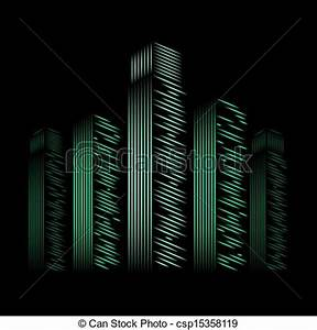 Vector Clip Art of neon city vector neon city vector csp Search Clipart Illustration Drawings and EPS Vector Graphics