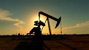 Oil Derrick In The Sunset In Texas Image