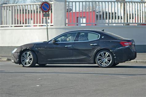 2017 maserati ghibli vs quattroporte maserati quattroporte 2017 facelift spied testing 2017
