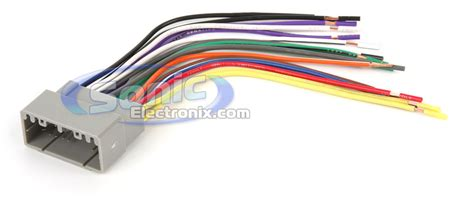 Wiring Harness Color Standards Sonic Electronix