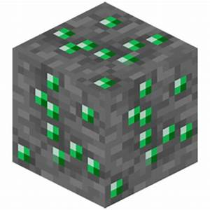 Emerald Ore - Feed The Beast Wiki