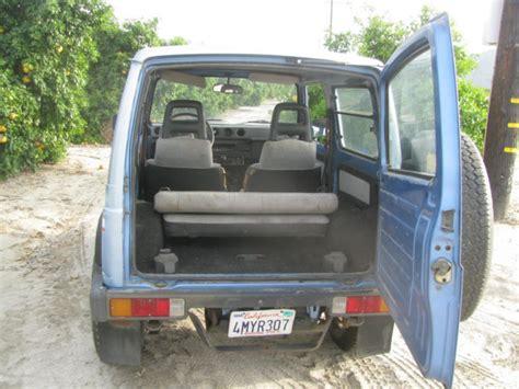 Suzuki Samurai Hardtop For Sale by Suzuki Samurai Hardtop 1987 Blue For Sale