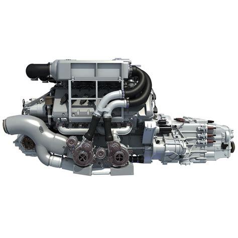 Bugatti W16 Engine For Sale by 3d Bugatti Veyron W16 Engine Model