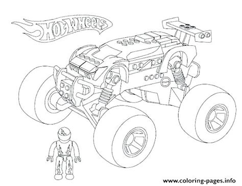 10 Wonderful Monster Truck Coloring Pages For Toddlers | Monster ... | 365x474