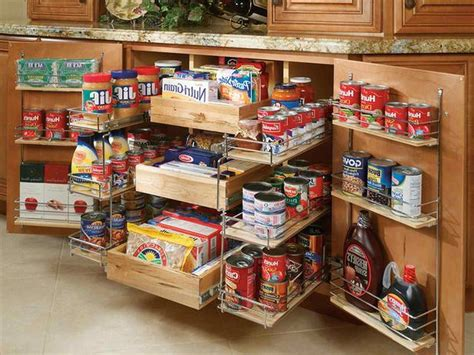 Small Kitchen Food Storage Ideas  Deductourcom