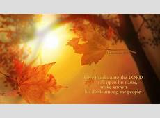 Scripture Thanksgiving Wallpaper – Festival Collections