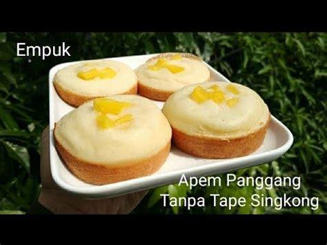 Apem tape taro by @ vitakwee Resep Apem Panggang, Tanpa Tape Singkong (Empuk dan Enak) - YouTube di 2020 | Resep, Hidangan ...